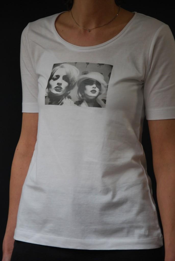 fertiges T-Shirt mit Aufdruck