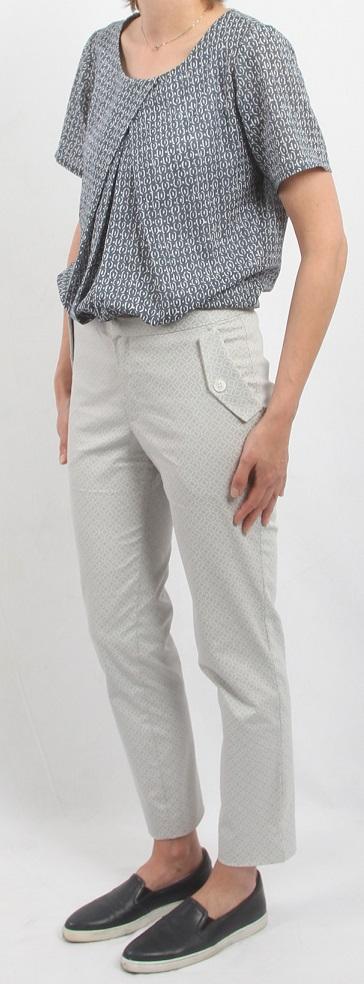 Bluse und Hose aus Wolbecker Stoffen
