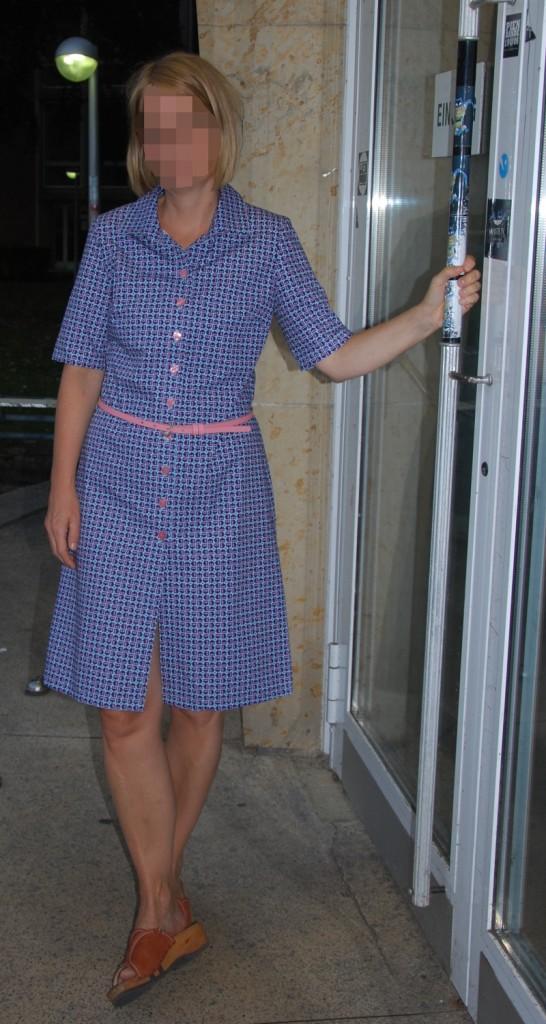 Das Kleid als Gesamtansicht!