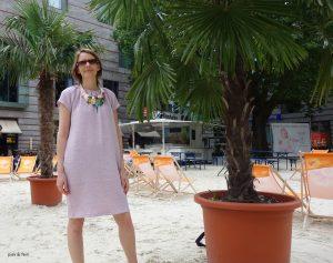 rosa Sommerkleid Lucie
