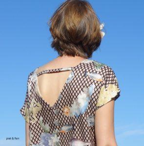 Rückendekolleté Burdastyle Kleid