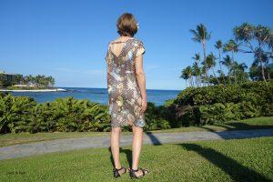 Burdastyle Kleid mit Rückenausschnitt