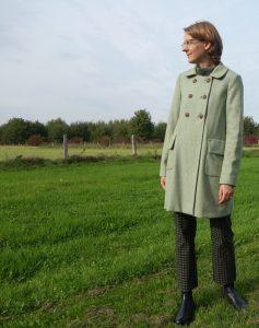 Herbstliches Outfit in Grün