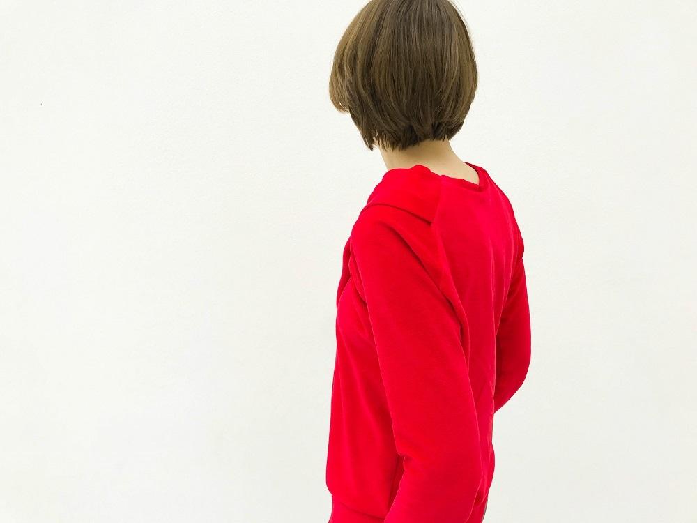 Rückseite des Bowline Sweaters