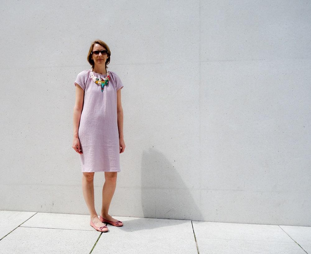 Kleid Lucie von Schnittchenpatterns aus Double Gauze