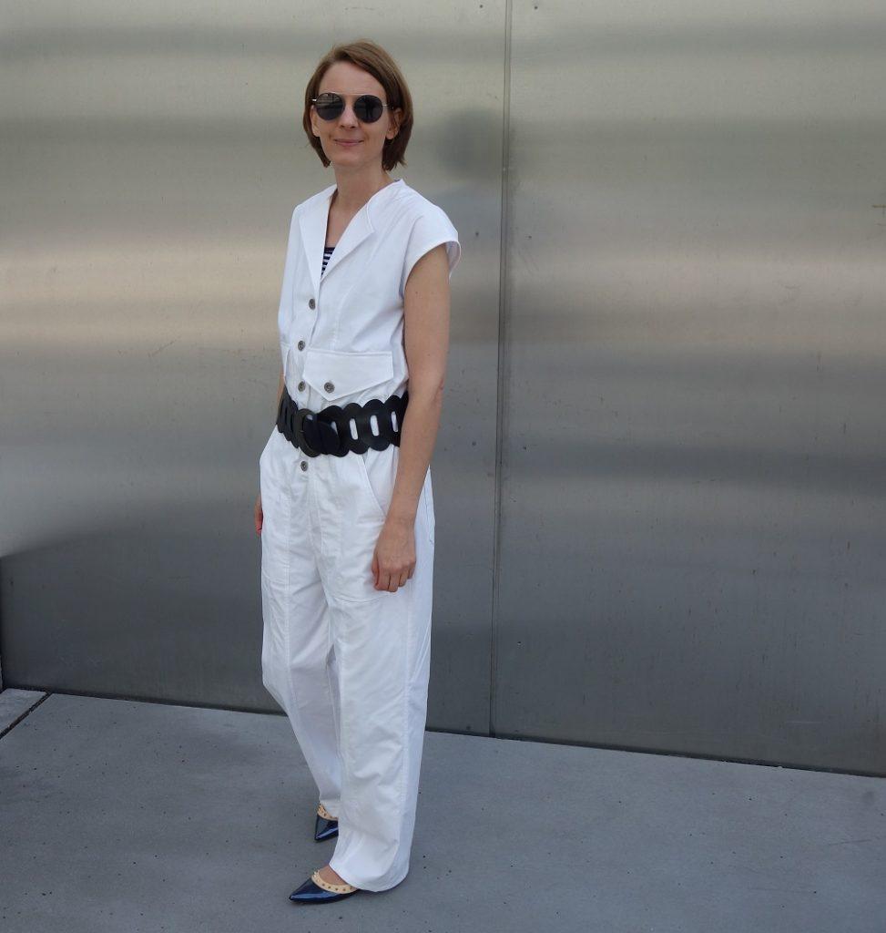 dp studio fashion Jumpsuit Le 300 mit Gürtel