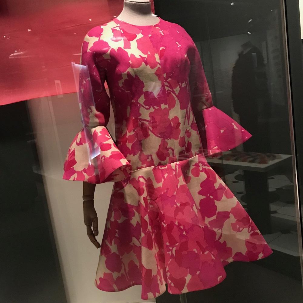 Seidenkleid Balenciaga