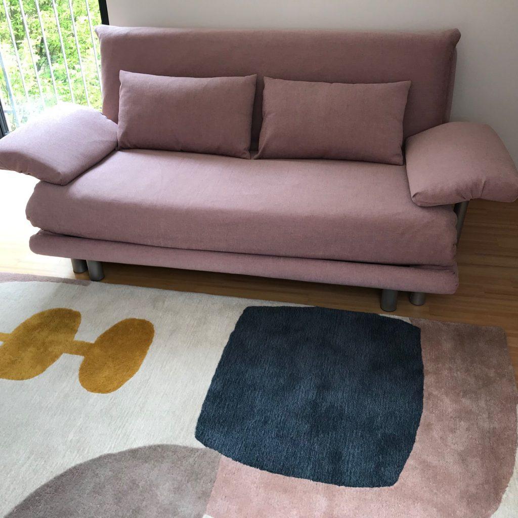 altes Multy Sofa mit neuen Bezügen