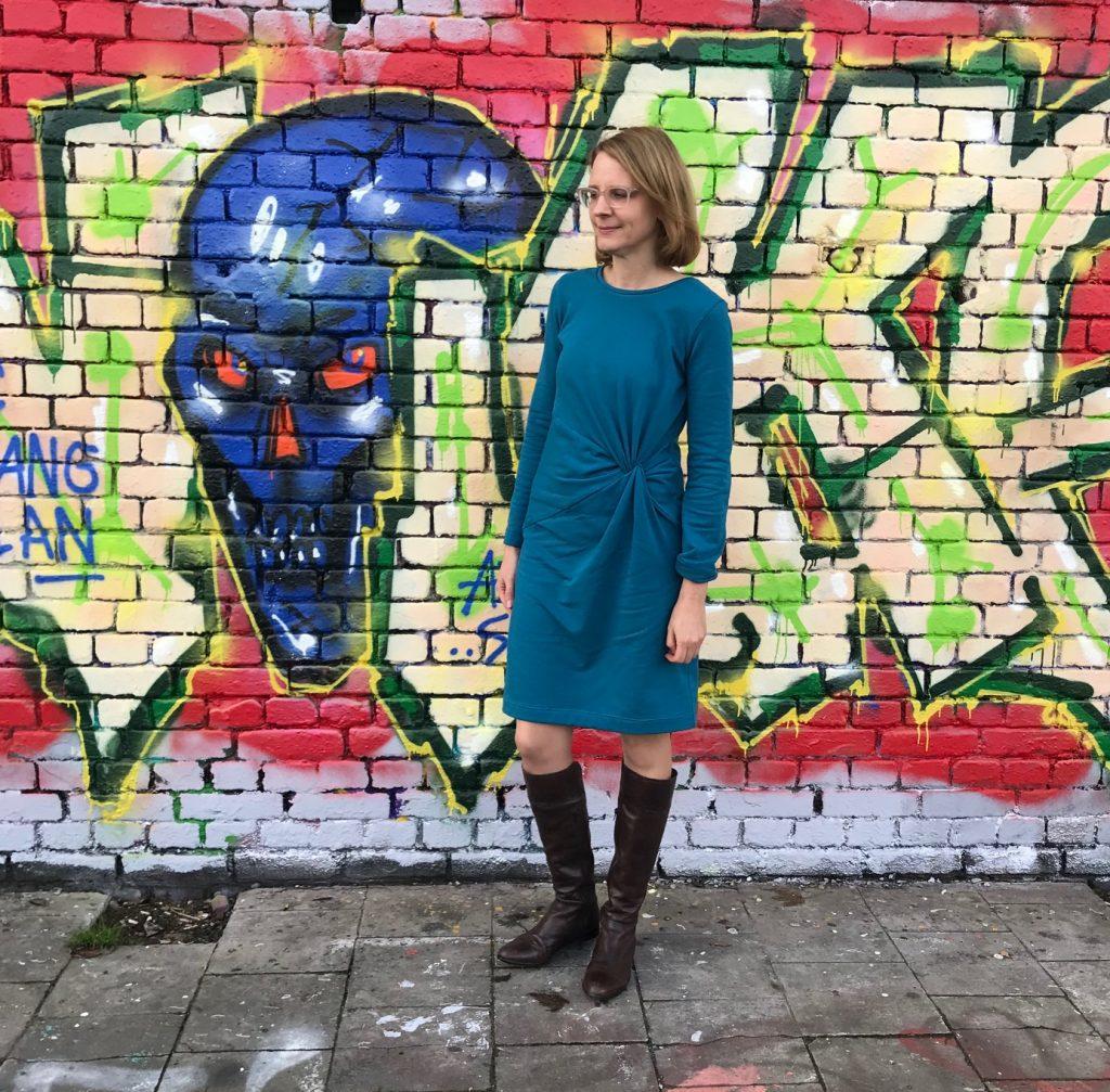 Kleid Silia aus Sweatstoff